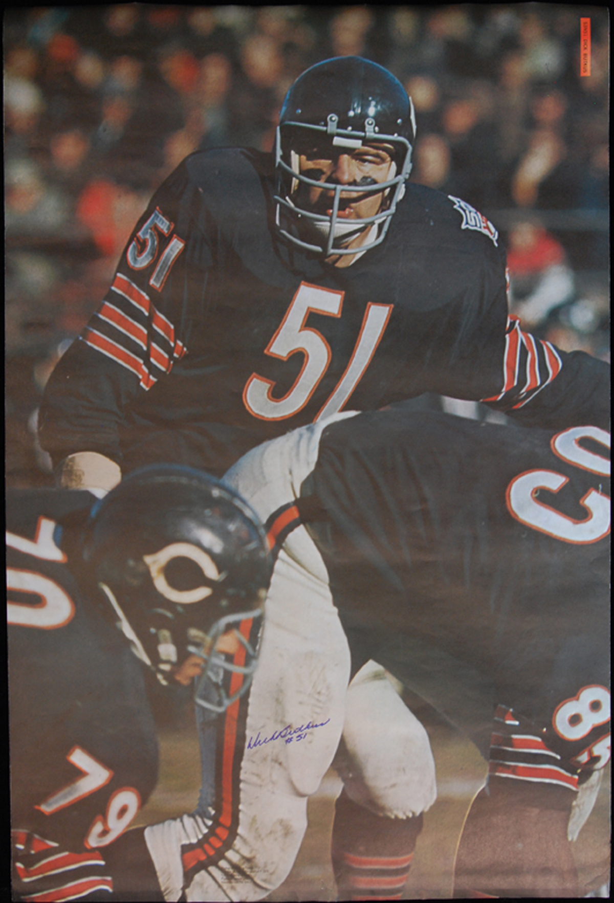illustrated sports butkus Dick cover