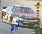 Dale Earnhardt Signed 1997 Pinnacle 8x10 Card (Graded PSA/DNA 9)