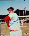 Stan Musial Signed 8x10 Photo (PSA/DNA)