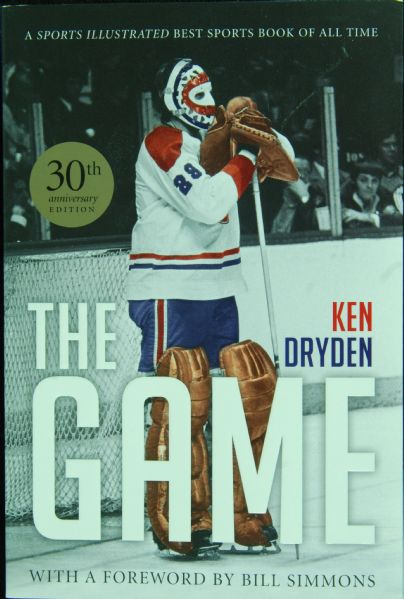 Ken Dryden Signed The Game Book (PSA/DNA)