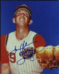 "Tommy Helms Signed 8x10 Photo ""ROY"""