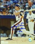 "Gary Carter Signed 8x10 Photo ""3 Gold Gloves 80-82"""
