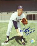 "Stan Bahnsen Signed 8x10 Photo ""1968 ROY"""