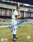 "Billy Williams Signed 8x10 Photo ""ROY 61"""
