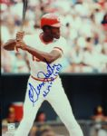 "George Foster Signed 8x10 Photo ""NL MVP 1977"""