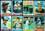 1979 Topps Baseball Signed Near Complete Set (608/726)