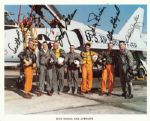 Mercury 7 Crew-Signed 8x10 Photo (6 Signatures) (PSA/DNA)