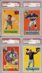 Super High-Grade 1956 Topps Football Complete Set (122)