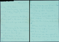 Jacqueline Kennedy Signed Handwritten Two-Page Letter (1974) (BAS)
