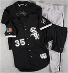 Frank Thomas 1994 MVP Season Game-Used Jersey, Pants, Cleats & Under Clothes
