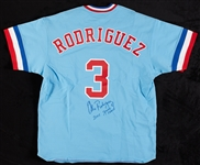"Alex Rodriguez 2001 Game-Used Signed Rangers Turn Back The Clock Jersey ""2001 Game Used"" (BAS)"