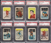 1952 Parkhurst Hockey PSA-Graded Complete Set - PSA Set Registry No. 13 (105)