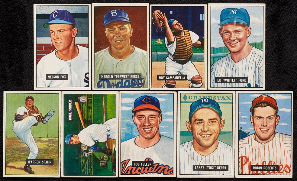 1951 Bowman Baseball Near Set in Binder (323)