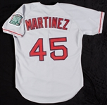 Pedro Martinez 1999 Red Sox Game-Worn Cy Young Season Road Jersey
