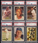 High-Grade 1957 Topps Baseball PSA-Graded Complete Set - PSA Set Registry No. 65 (407)