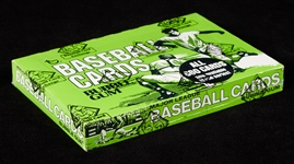 1976 Topps Baseball Cello Box (24) (Fritsch/BBCE)
