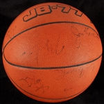 1984 US Olympic Basketball Team-Signed Basketball with Michael Jordan (14) (BAS)