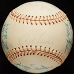 1972 Detroit Tigers Team-Signed Baseball (22)