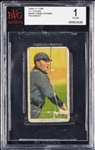 1909-11 T206 Cy Young Bare Hand Shows (Piedmont 350) BVG 1