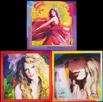 Taylor Swift & Peter Max Signed Series of Prints (3)