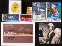 """Willy Wonka & The Chocolate Factory"" Golden Ticket Children Signed Group (50)"