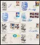 Baseball & Other Sports Signed FDC Hoard (208)