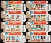Spectacular 1971 Bazooka Baseball Complete Set in Unassembled Boxes (12)
