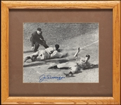 Joe DiMaggio Signed 8x10 Framed Photo (Graded PSA/DNA 10)
