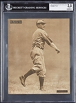 1909-13 Sporting News Supplements M101-2 Bobby Wallace/St. Louis-A/12/21/10 BGS 2.5
