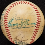 1971 American League All-Star Team-Signed Baseball with Thurman Munson (26) (BAS)
