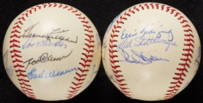 1969 American League All-Star Team-Signed Baseballs (3)