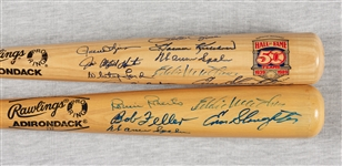 HOFer Multi-Signed Bats Pair (2)