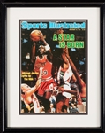 Michael Jordan Signed Sports Illustrated Cover Framed Print (UDA)