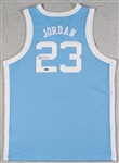 Michael Jordan Signed North Carolina Jersey (UDA)