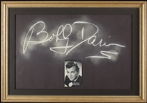 "Bobby Darin Signed Chalkboard from ""Whats My Line"" (June 5, 1960) (BAS)"