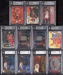 1990s Michael Jordan BGS-Graded Insert Group (22)