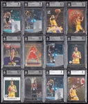 1990-2000s Basketball BGS-Graded Insert Group with Kobe, LeBron, Duncan (26)