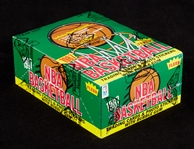 1987-88 Fleer Basketball Wax Box (36) (Fritsch/BBCE)