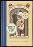 "Daniel Handler Signed ""The Bad Beginning"" First Edition Book (BAS)"