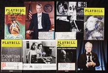 Signed Photo & Playbill Group with Larroquette, Sevigny, Birney, McGovern (8)