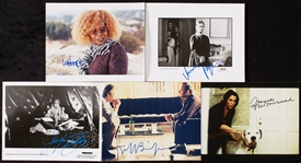 Oscar Winning Actor Signed 8x10 Photo Group (10)