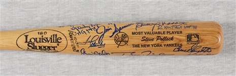 New York Yankees Multi-Signed Bat (28 Signatures) (PSA/DNA)