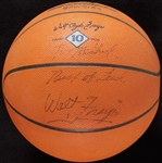 Walt Frazier Signed Store Personal Model Basketball (BAS)