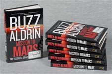 Buzz Aldrin Signed Books Group (6)