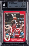 1984-85 Star Co. Michael Jordan XRC No. 101 BGS 8.5