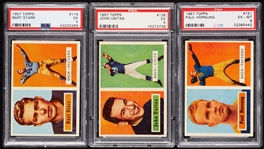 1957 Topps Football Complete PSA-Graded Set - No. 28 on PSA Registry (154)