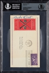 Babe Ruth Signed FDC (1939) (Graded BAS 9)