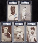 Signed 1962 Exhibit Stat Back Group (23)