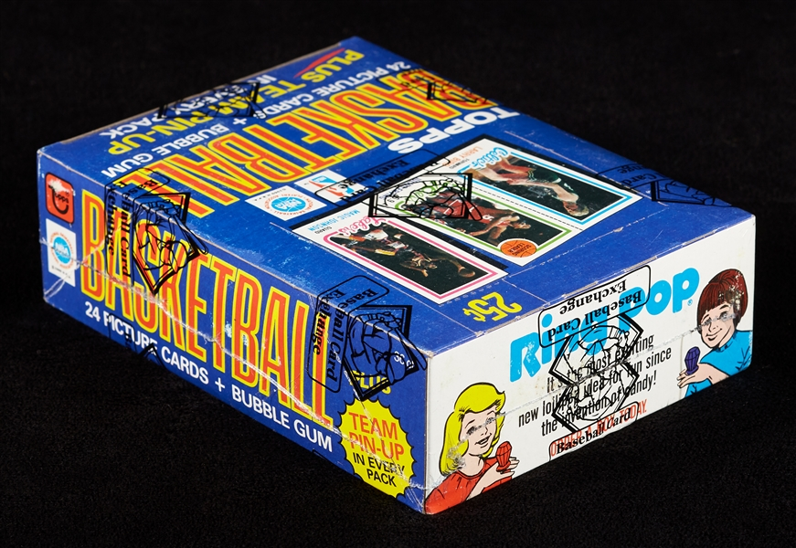 1980-81 Topps Basketball Wax Box (36) (Fritsch/BBCE)