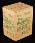 1984 Topps Baseball Rack Pack Sealed Case (3/24)